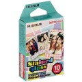 FUJI - Film instantané Instax mini - Stained Glass - Pack 10 photos