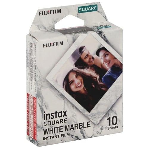 Instax Square - Cadre Marbre blanc - Pack 10 photos
