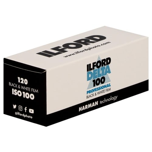 ILFORD - Pellicule photo noir et blanc DELTA 100 Format 120 L'unité