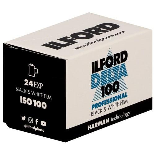 ILFORD - Pellicule photo noir et blanc DELTA 100 Format 135 - 24P L'unité