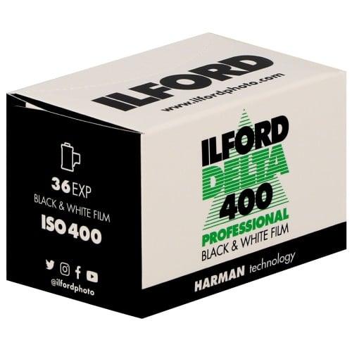 ILFORD - Pellicule photo noir et blanc DELTA 400 Format 135 - 36P L'unité