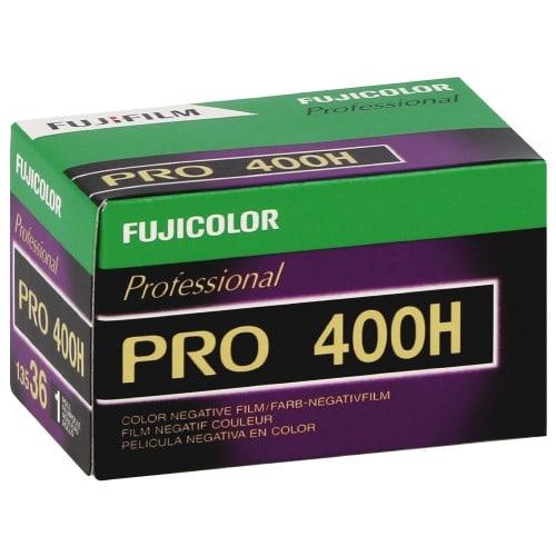 FUJI - Pellicule photo pro Négatif couleur Pro 400 H - Format 135 / 36P L'unité