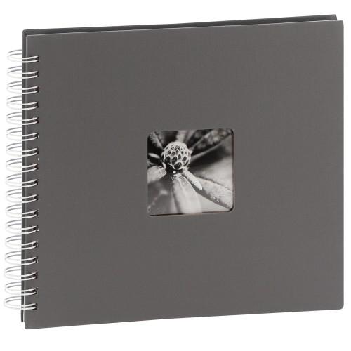 traditionnel Jumbo Fine Art - 50 pages blanches - 100 photos - Couverture Grise 28x24cm