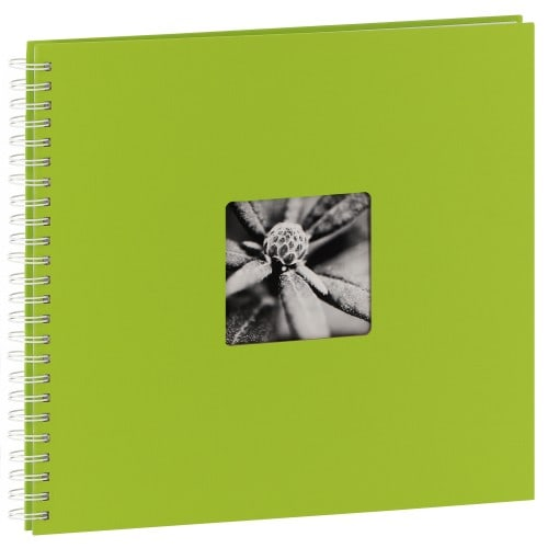 traditionnel Jumbo Fine Art - 50 pages blanches - 300 photos - Couverture Kiwi 36x32cm