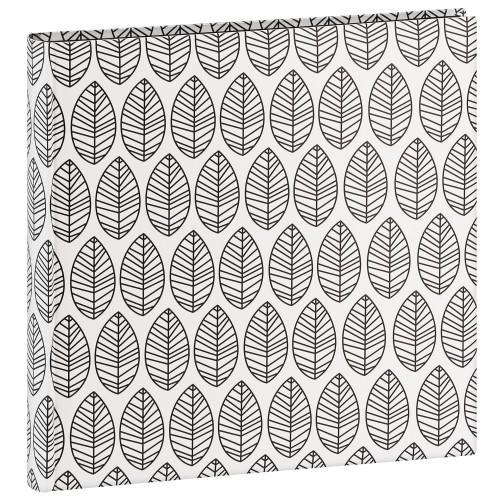 Jumbo La Fleur - 100 pages blanches + feuillets cristal - 400 photos - Couverture Blanche 30x30cm