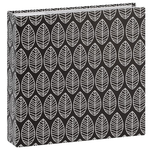 Mémo La Fleur - 100 pages blanches - 200 photos - Couverture Noire 22,5x22,5cm