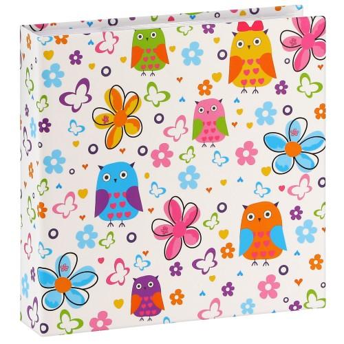 pochettes avec mémo Ayleen - 100 pages blanches - 200 photos - Couverture Multicolore 22,5x22cm + poche CD
