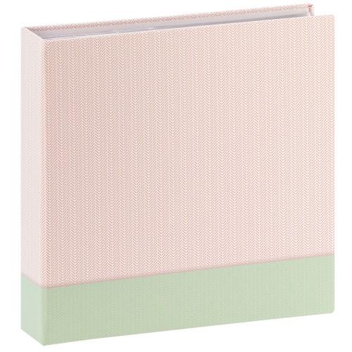 HAMA - Album photo pochettes avec mémo FILIGRANA - 100 pages blanches - 200 photos - Couverture Verte 22x22cm