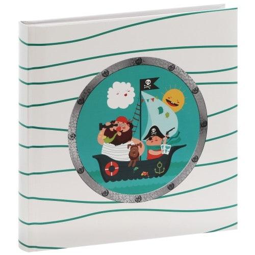 traditionnel PIRAT - 50 pages blanches + feuillets cristal - 100 photos - Couverture Multicolore 25x25cm