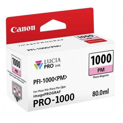 Canon cartouche PFI-1000PM magenta photo pour Prograf Pro 1000 (80ml)