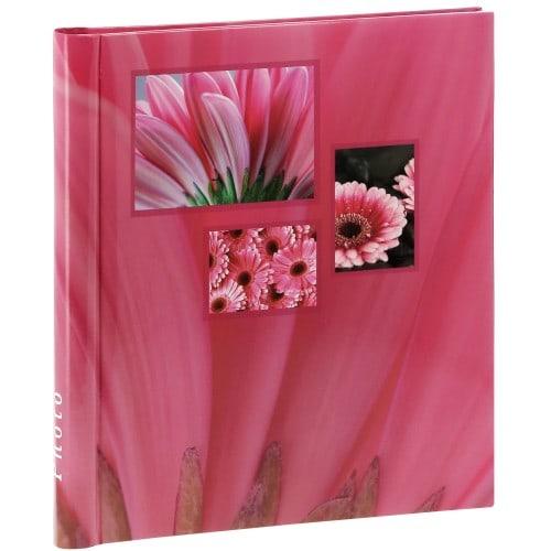 HAMA - Album photo adhésif SINGO - 20 pages blanches - 60 photos - Couverture Rose 28x31cm