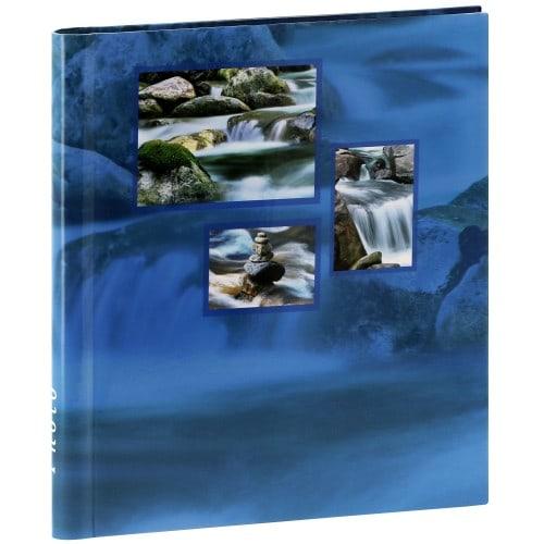 adhésif Singo - 20 pages blanches - 60 photos - Couverture Aqua 28x31cm