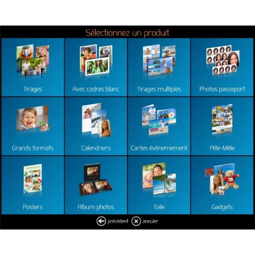Logiciel DiLand KIOSK + Creative Design - Toutes marques d'imprimantes - Livré avec Dongle USB  (Windows)