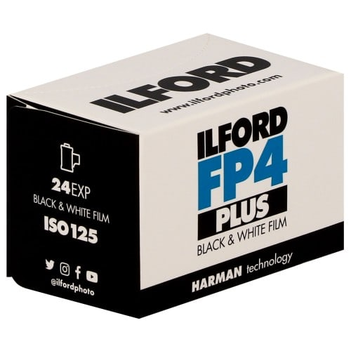 ILFORD - Pellicule photo noir et blanc FP4 PLUS 125 Format 135 - 24P L'unité