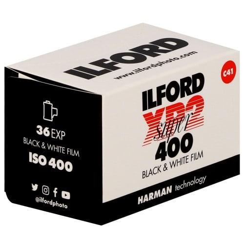 ILFORD - Pellicule photo noir et blanc XP2 SUPER 400 Format 135 - 36P L'unité