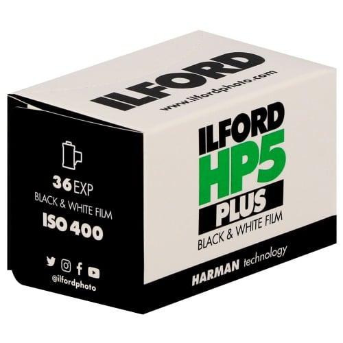ILFORD - Film noir et blanc HP5 PLUS 400 Format 135 - 36 poses - à l'unité