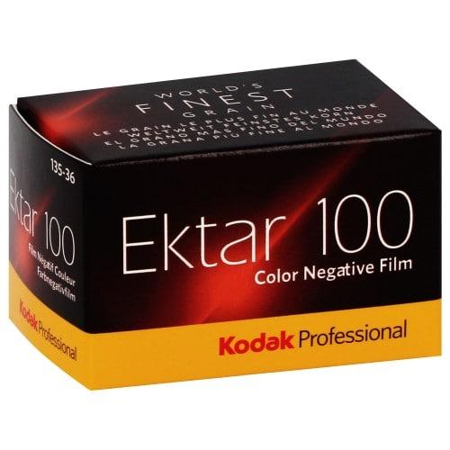 Pellicule photo pro KODAK Négatif couleur EKTAR 100 Format 135 / 36P L'unité