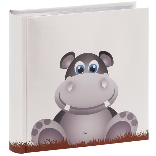HAMA - Album photo pochettes avec mémo NORA - 100 pages blanches - 200 photos - Couverture Blanche 22,5x22cm