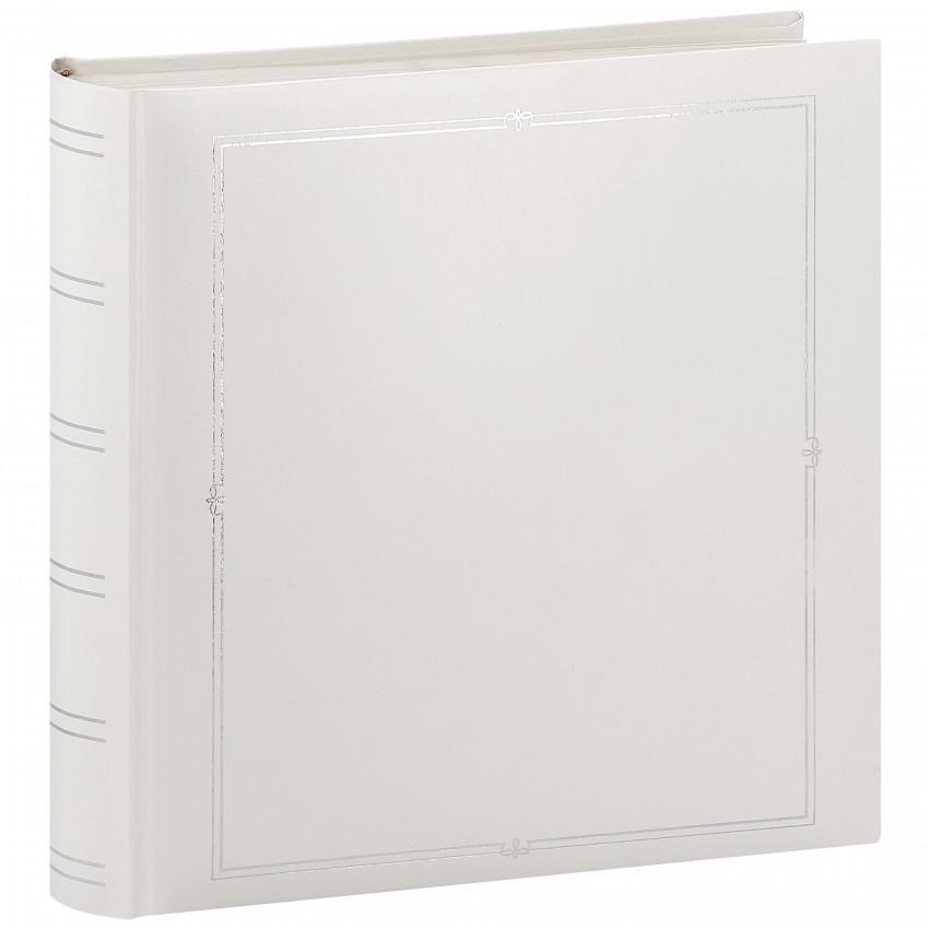 Album photo PANODIA VENUS 30x30cm 500 photos 10x15 - Traditionnel 126 pages blanches + pergamine - couverture blanche et filets