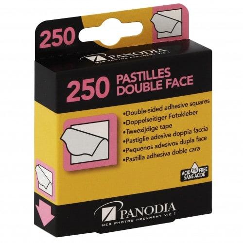 PANODIA - Pastilles double face Boîte de 250 (environ 60 photos)