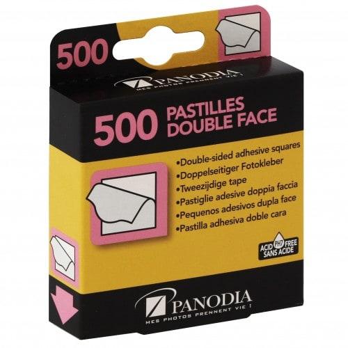 PANODIA - Pastilles double face Boîte de 500 (environ 125 photos)