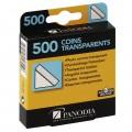 PANODIA - Coins photo - Transparents - Boîte de 500 (pour 125 photos)