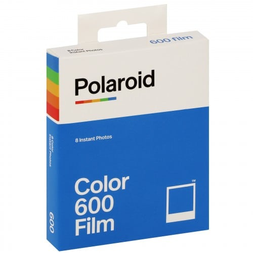Film instantané IMPOSSIBLE pour POLAROID 600/One 600 - 8 photos - couleur