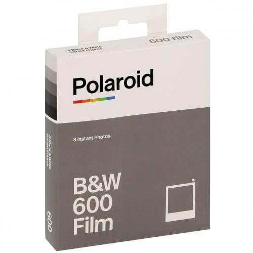Film instantané IMPOSSIBLE pour POLAROID 600/One 600 - 8 photos - noir et blanc