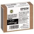 EPSON - Cartouche d'encre traceur SC-P800 - Gris clair - 80ml - T8509