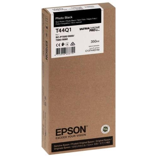 T44Q1 Pour imprimante SC-P7500/9500 UltraChrome PRO Noir Photo - 350ml