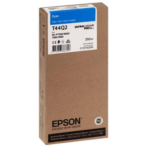 T44Q2 Pour imprimante SC-P7500/9500 UltraChrome PRO Cyan - 350ml
