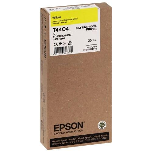 T44Q4 Pour imprimante SC-P7500/9500 UltraChrome PRO Jaune - 350ml