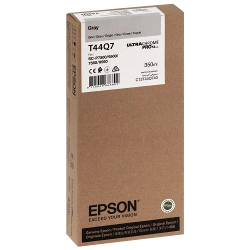 T44Q7 Pour imprimante SC-P7500/9500 UltraChrome PRO Light Noir - 350ml