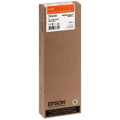 T44JA Pour imprimante SC-P7500/9500 UltraChrome PRO Orange - 700ml