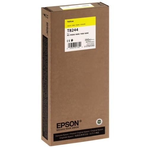 EPSON - Cartouche d'encre traceur T8244 Pour imprimante SC-P6000/7000/7000V/8000/9000/9000V Jaune - 350ml