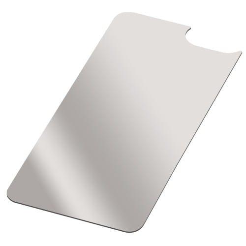 Coque smartphone MB TECH 2D iPhone - Feuille aluminium supplémentaire pour coque rigide & souple iPhone 6 - Lot de 10