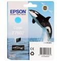 EPSON - Cartouche d'encre traceur SC-P600 - Cyan - 25,9ml - T7602