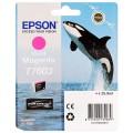 EPSON - Cartouche d'encre traceur SC-P600 - Vivid magenta - 25,9ml - T7603