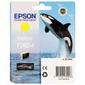 EPSON - Cartouche d'encre traceur SC-P600 - Jaune - 25,9ml - T7604