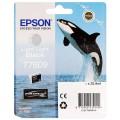 EPSON - Cartouche d'encre traceur SC-P600 - Gris clair - 25,9ml - T7609