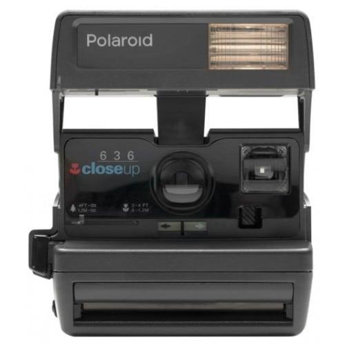 Appareil photo instantané POLAROID 600 Carré (reconditionné) - Style années 80 - Format photo 7,9x7,9cm - Utilise le film Imposs