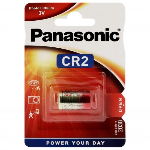 Pile lithium CR2 CR17355 3V PANASONIC Photo Power Blister d'1 pile