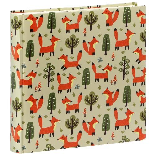 Forest Fox - 100 pages blanches + feuillets cristal - 400 photos - Couverture Multicolore 30x30cm