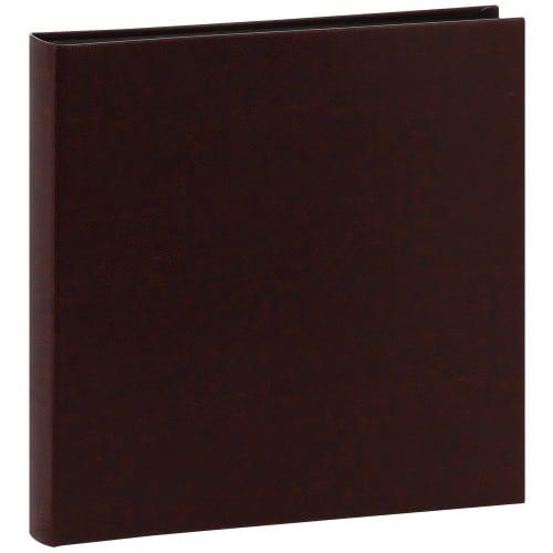 PANODIA - Album photo traditionnel MALAGA - 60 pages noires + feuillets cristal - 240 photos - Couverture Noire 31x31cm