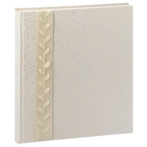 GOLDBUCH - Album photo traditionnel LA BELLE - 60 pages blanches + feuillets cristal - 240 photos - Couverture 30x31cm