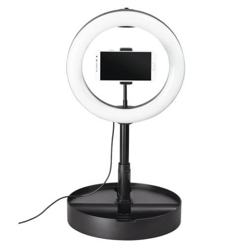 Spotlight FoldUp 102 pour smartphone - Lampe anneau 128 LED - Diamètre 26,5cm