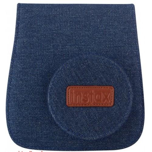 Etui appareil photo FUJI Instax mini Toile jeans - Pour Instax Mini 8 et Mini 9