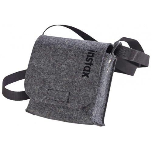 Etui appareil photo FUJI Housse feutrine grise Pour Instax Mini 70