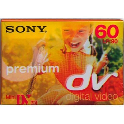 Cassette Mini DV SONY Premium 60 mn