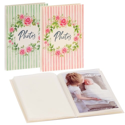 GOLDBUCH - Mini album pochettes sans mémo SUMMERDAY - 32 pages blanches - 32 photos - Couverture Coloris aléatoire 12x16cm - à l'unité